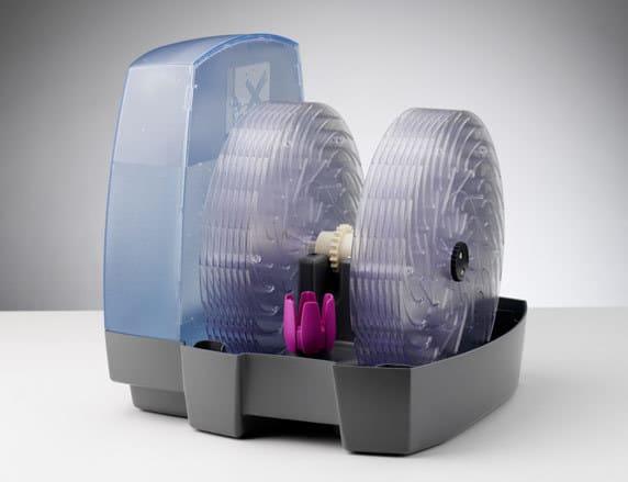 Конструкция дисковой мойки воздуха