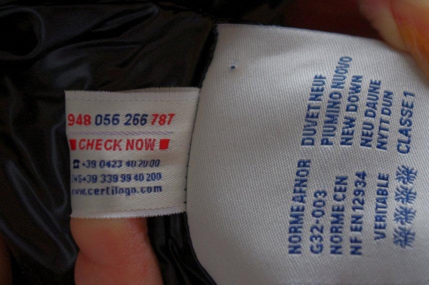 Класть пуховик в стиральную машину можно только, если это указано на ярлыке производителя