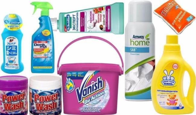 Применяйте средства, предназначенные непосредственно для чистки