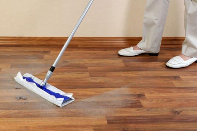Ежедневная уборка линолеума – залог его чистоты