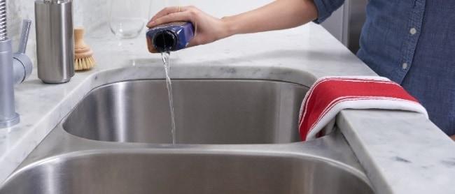 Применение химических средств для очистки канализации