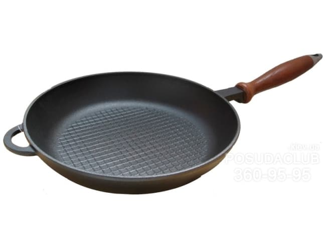 Чугунная сковорода