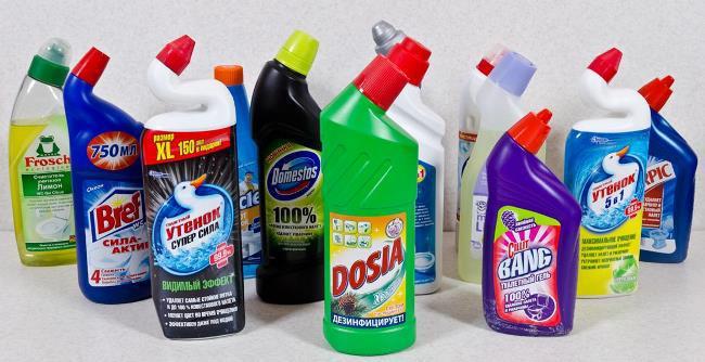 Для мытья рук используйте любую хлорку