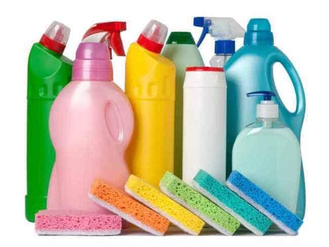 Химические средства для очистки посуды