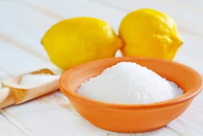 Лимонная кислота поможет легко отмыть ручку со светлой кожи