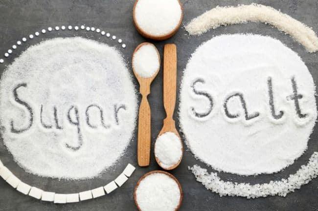 Сахар и соль – лучшие подручные абразивные вещества