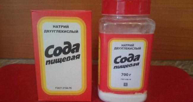 Сода – убийца жировых пятен