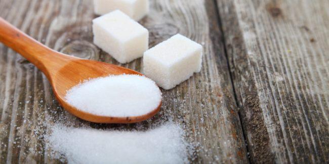 Сахар в качестве пятновыводителя