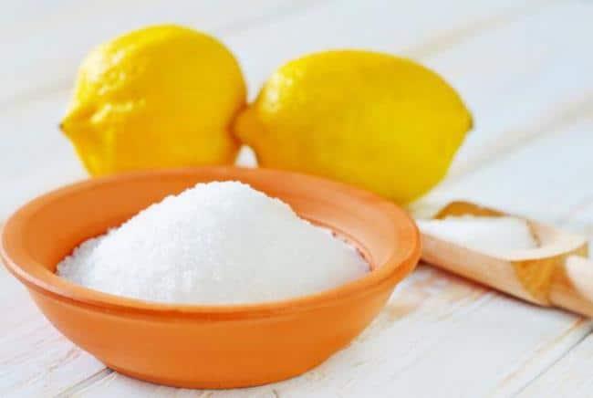 Лимонная кислота уберет ржавчину с изделий