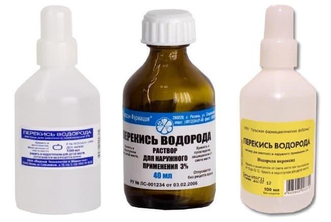 Аптечный продукт – пероксид водорода является популярным очистителем в быту
