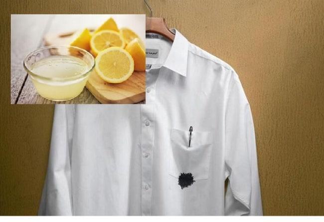 Лимонный сок – прекрасный растворитель чернил