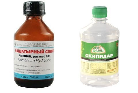 Мощнейшие вещества для выведения чернильной пасты
