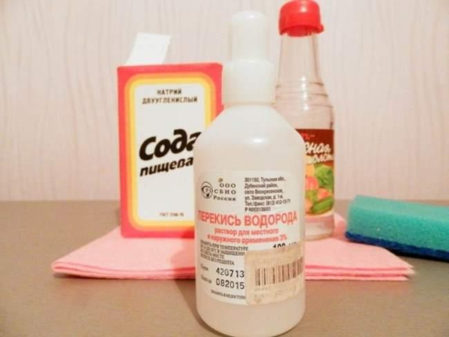 Подручные средства для очистки линолеума