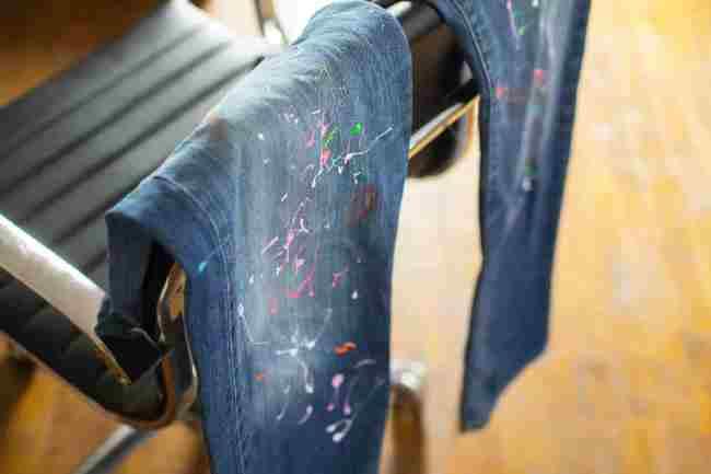 Водоэмульсионная краска не оставляет стойких пятен