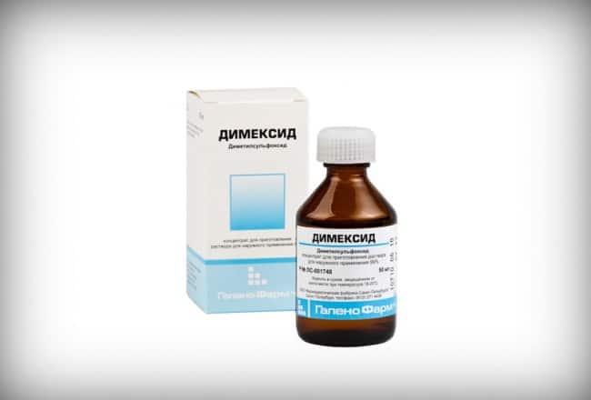 Димексид удаляет герметик на молекулярном уровне