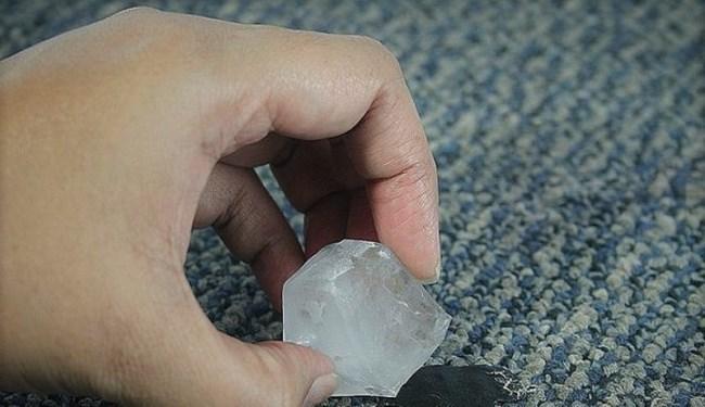 Лед против пластилина