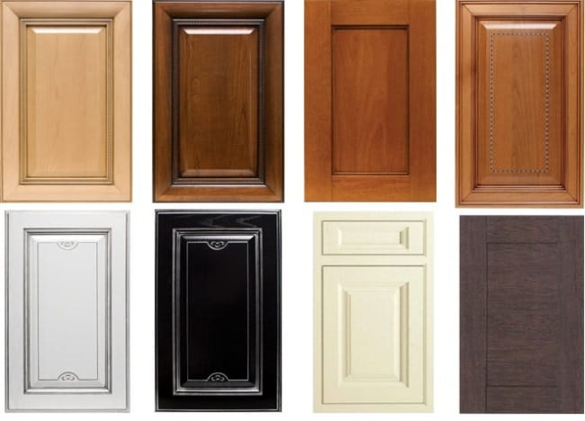 Разновидности кухонных фасадов