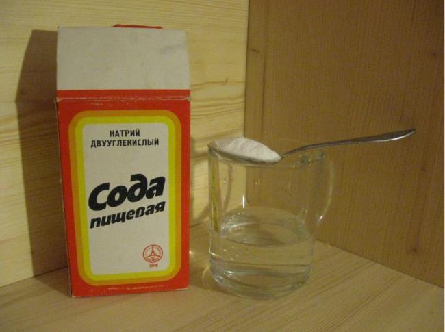 Мойка микроволновки содой
