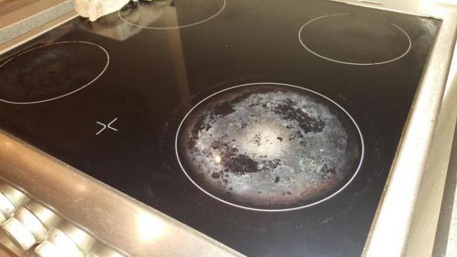 Последствия после готовки