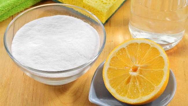 Сода, уксус и лимон