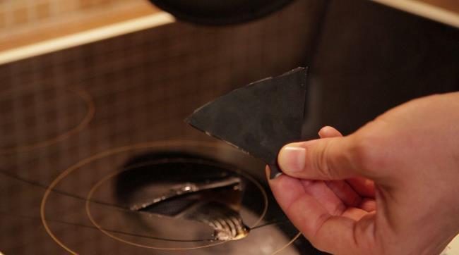 Плохое обслуживание плиты