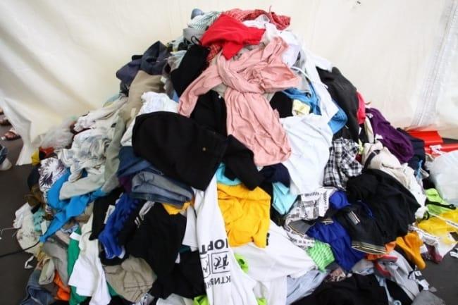 Горы одежды