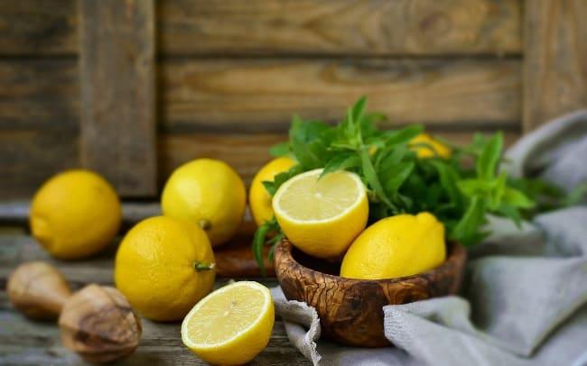 Чистка лимоном