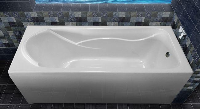 Как чистить акриловую ванну