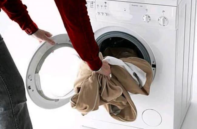 Стирка пиджака в стиральной машинке