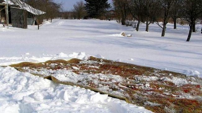 Чистка кора зимой
