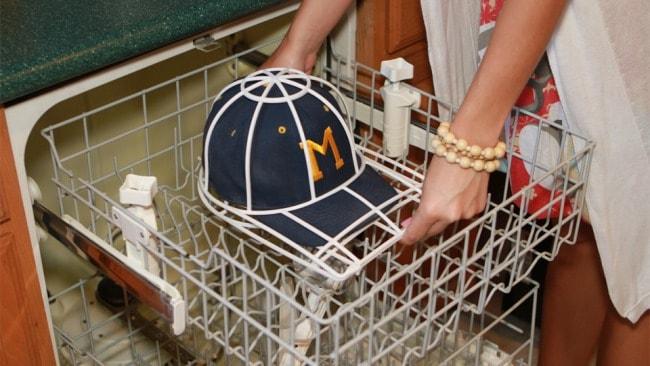 Фиксация кепки в посудомойке