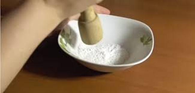 Аспирин используется в виде порошка