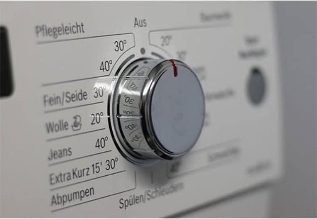 Выбор температуры зависит от типа ткани