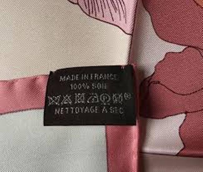 Ярлык на шелковой одежде