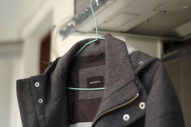 Чистка драпового пальто