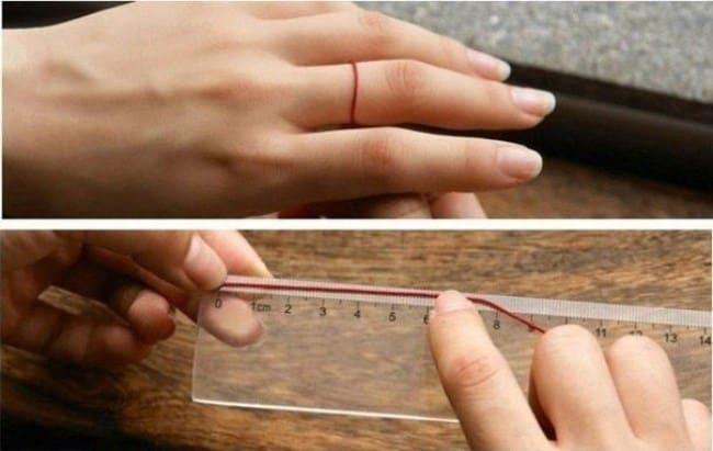 Измерение нитью