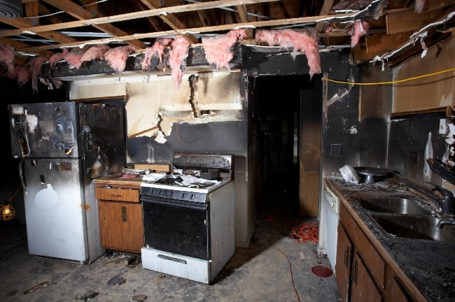 Плачевные последствия после пожара