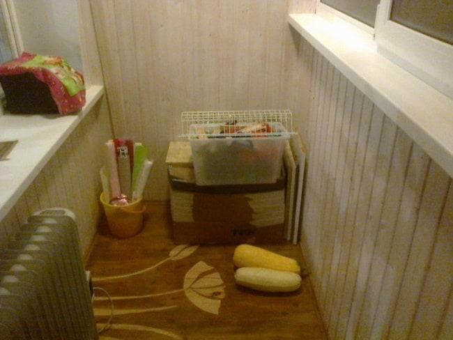 Во время разморозки продукты положите на балконе
