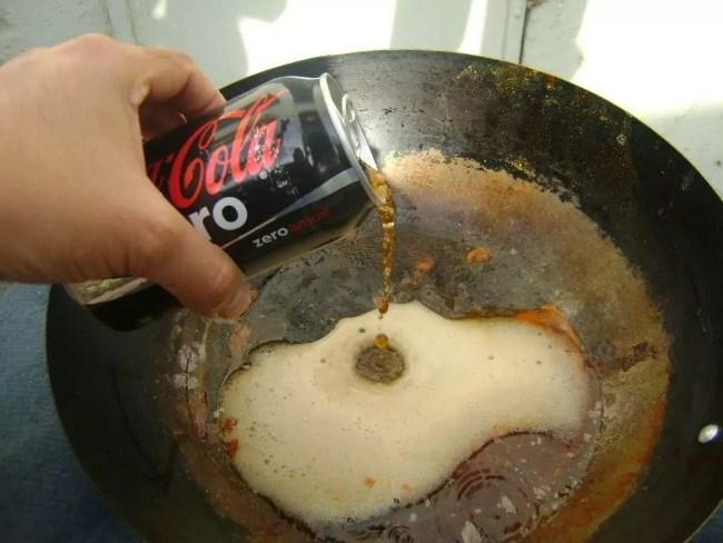 Используйте кока колу без сахара