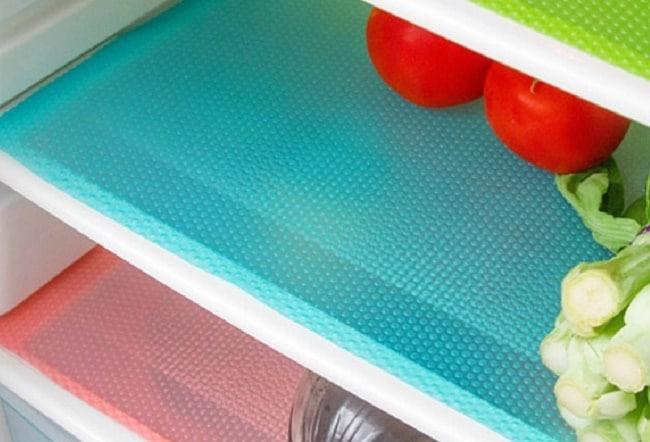 Используйте салфетки только в уже вымытом холодильнике