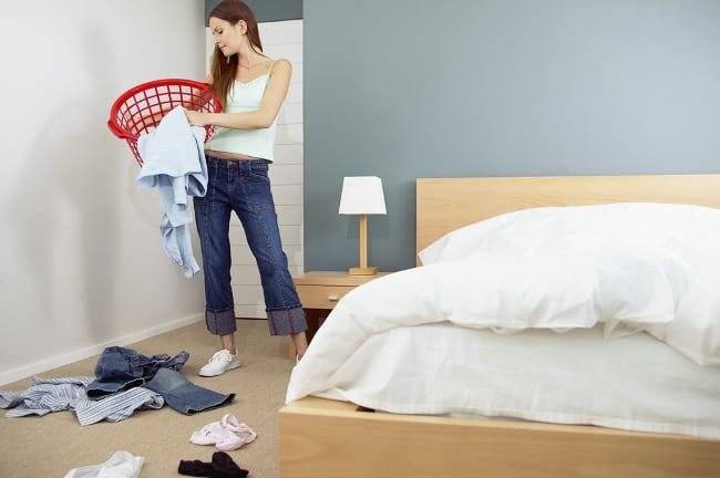 Спальня самая грязная комната