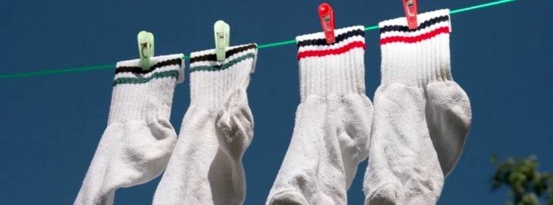 Как отбелить носки белые в домашних условиях