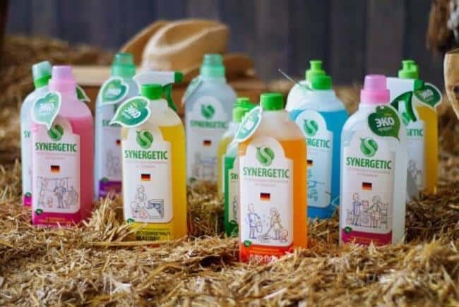 Компания не использует отдушки, химические красители, хлор, фосфаты