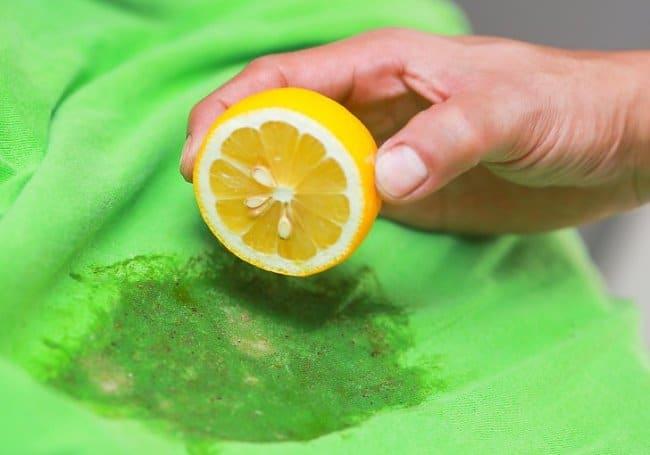 Лимонный сок может стать заменой ацетону