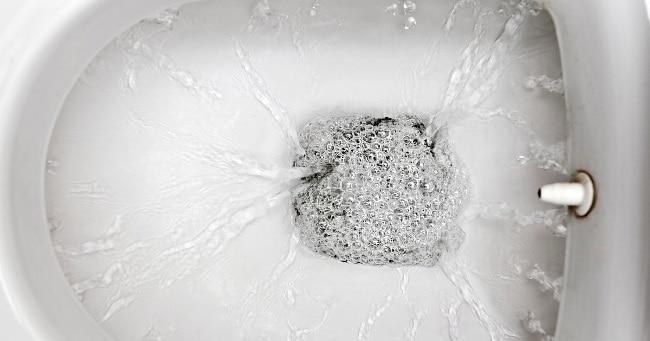 При такой подаче вода проходит через большое количество отверстий, расположенных по кругу