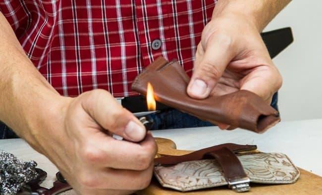 Проверка огнём поможет узнать, настоящая вещь или поддельная