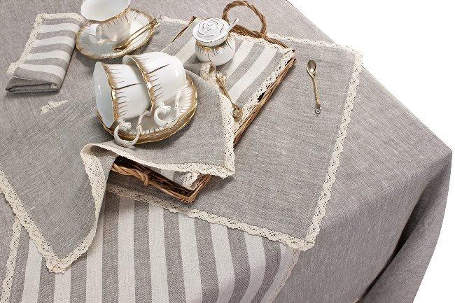Для классического оформления выберите текстиль из натурального материала