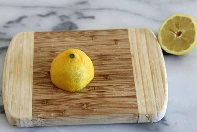 Лимон уничтожает все неприятные ароматы