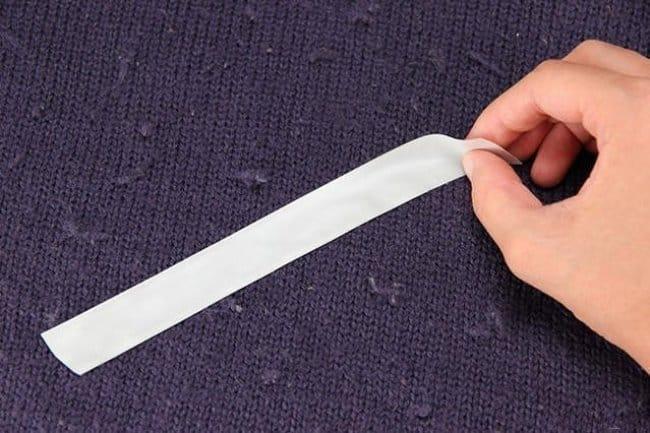 Метод безопасен для гладкой шерсти, а также для изделий с элементами декора или сложной фактурой