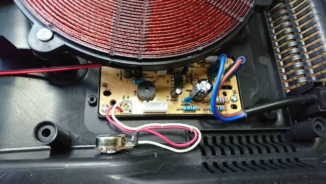Может быть неисправным светодиод или на него не идет питание постоянного тока в 14 В